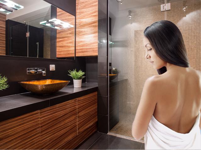 Sauna Indoor no banheiro - Solicite uma Cotação