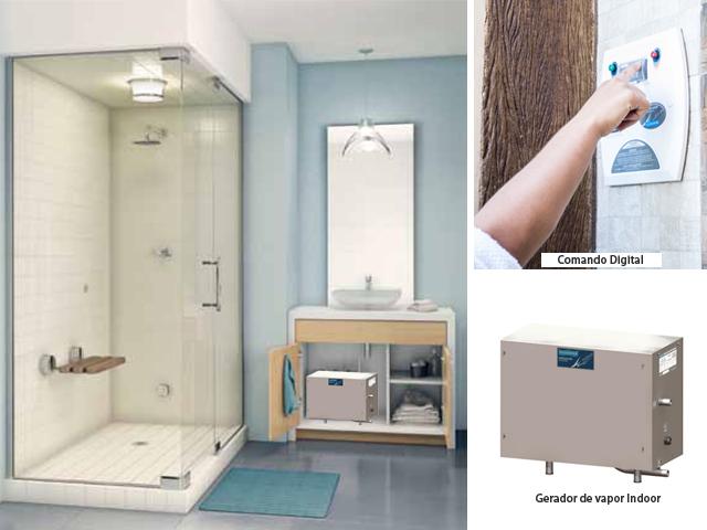 Sauna Indoor para banheiro - Como Funciona