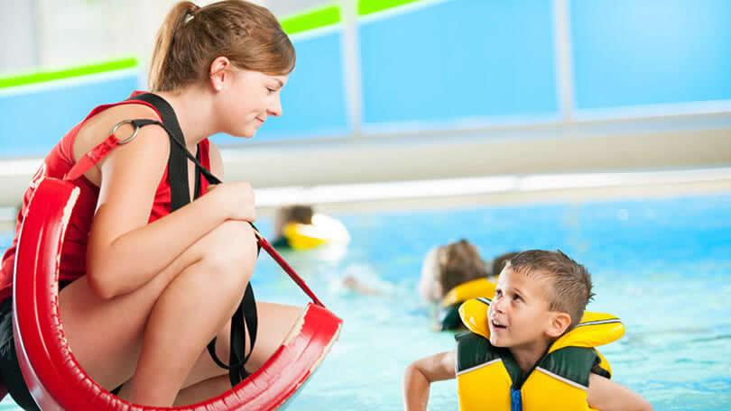 Serviços Pool Rescue: Guardião de piscina