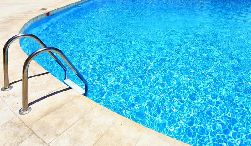 Acidente na piscina