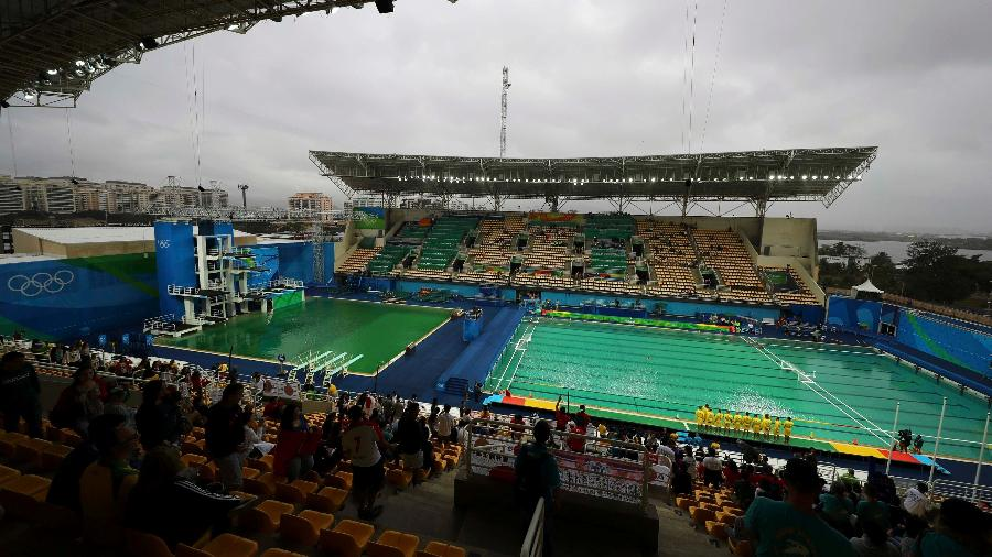 Água verde nas Olimpíadas