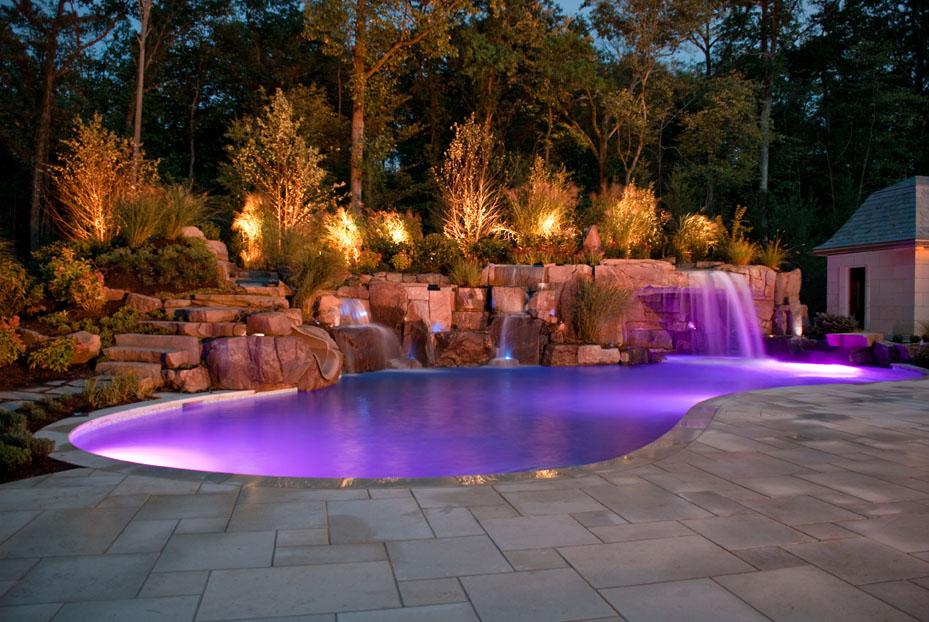 Dicas de iluminação para piscina