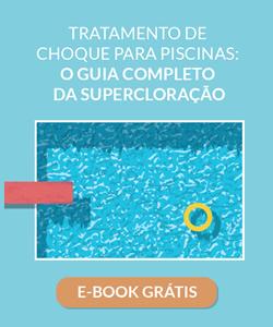 Tratamento de choque para piscina