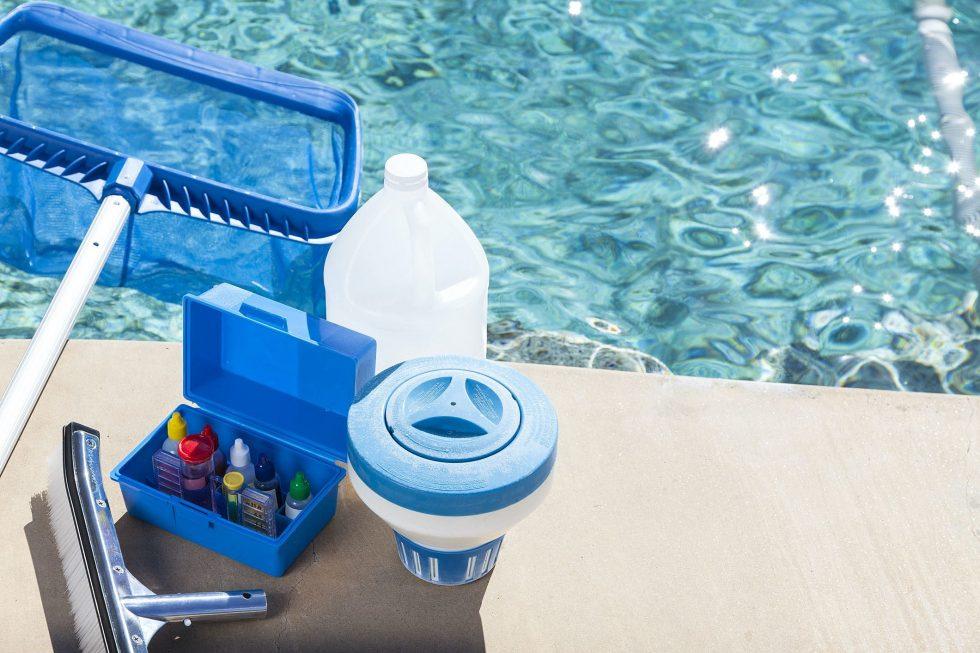 Quando fazer o tratamento de emergência na piscina?